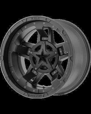 """XD 827 """"ROCKSTAR III"""" Wheel 20x12 in Satin Black for 07-up Jeep Wrangler JK, JL & JT Gladiator - XD82721235744N"""