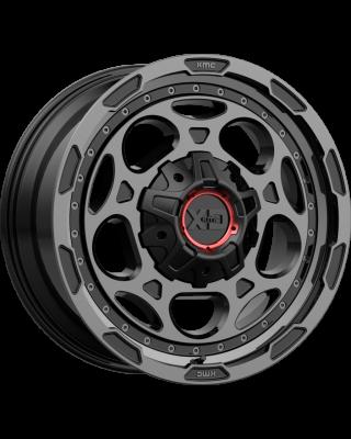 """XD837 """"DEMODOG"""" Wheel 20x10 in Satin Black with Gray Tint for 07-up Jeep Wrangler JK, JL & JT Gladiator - XD83721035918N"""