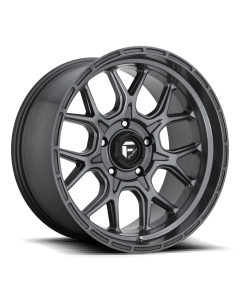 "FUEL D672 ""TECH"" Wheel 20x9 in Satin Anthracite for 07-up Jeep Wrangler JK, JL & JT Gladiator - D67220907550"
