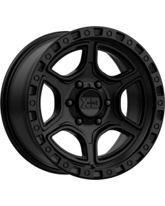 "XD 139 ""PORTAL"" Wheel 17x9 in Satin Black for 07-up Jeep Wrangler JK, JL & JT Gladiator - XD13979050712N"