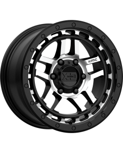 "XD 140 ""RECON"" Wheel 17x9 in Satin Black & Machined for 07-up Jeep Wrangler JK, JL & JT Gladiator - XD14079050512N"